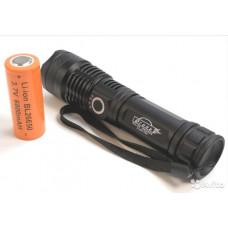 Ручной светодиодный фонарь Огонь H-631-P50