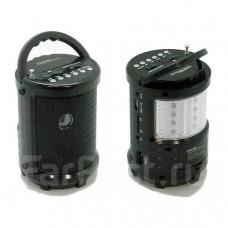 3 в 1 Радиоприемник фонарь плеер LedLight M-U603