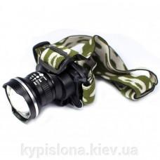 Налобный фонарик LED P-6807