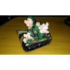 """Фигурка """"Танкисты на танке"""""""