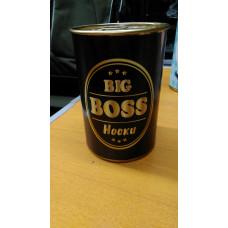 """Подарочные носки в Банке """"Big Boss"""""""