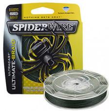 Леска плетеная Spiderwire Ultracast Ultimate Braid 0,12 110м 9,1кг зеленая