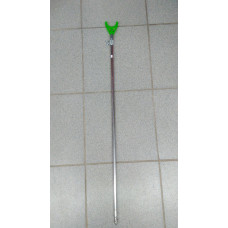 Подставка для удочки,электронных сигнализаторов поклевки, гребёнок телескоп (до 1,5м) сталь винт