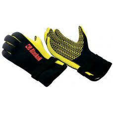 Перчатки неопреновые Alaskan Black/Yellow р.M