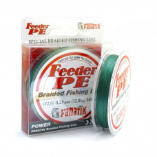 Плетенка FANATIK Feeder PE X4 0,1 140м 4,5кг зеленая