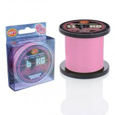 Плетёнка WFT Gliss 0,25 150м 19кг Pink