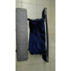 Комплект мягких накладок на сиденья с сумкой 96см/20см/4см
