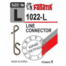 Застежка безузловая FANATIK 1022-L (9шт)