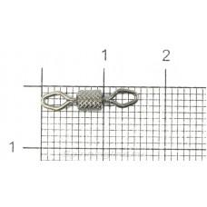Вертлюг Kosadaka роликовый рифленый №04 32кг (упаковка - 7шт)