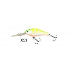 ВОБЛЕР FISHYCAT DEEPCAT 73F- SDR X11