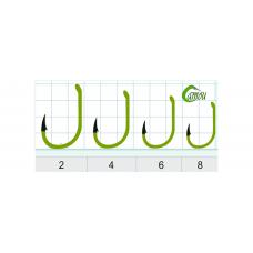Крючки Gurza SELECT CARP С RING (CAMOU) KE-5002 №4 (5шт/уп)