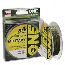 Шнур Military X4 125м 0,10мм 3,63 spot color