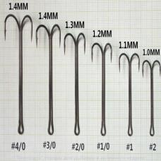 Двойник Kasaki J8920 с удлинённым цевьём 4/0 (1 штука)