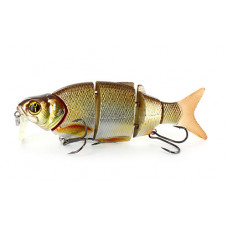 Воблер Izumi Shad Alive With Lip 5 section white fish 105 SD 105мм 21,8г Floating цв. 3