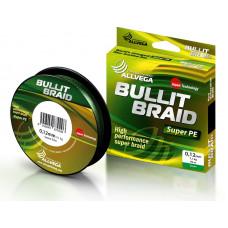 Плетёнка Bullit Braid 0,12 270м 7.1кг зелёная