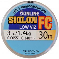 Флюрокарбоновая леска Sunline Siglon FC 0.180 30м 2,2кг