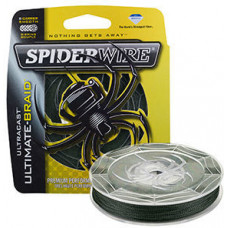 Леска плетеная Spiderwire Ultracast Ultimate Braid 0,17 110м 18,1кг зеленая