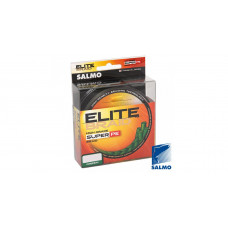 Плетенка Salmo Elite Braid 0,09 125м 3,5кг зеленая