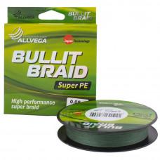 Плетёнка Bullit Braid 0,12 135м 7,1кг зелёная