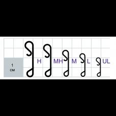 Застежки Gurza-WRAPPING SNAP N SN-8100 № UL (безузловка,антибликовое покрытие)(10шт/уп)