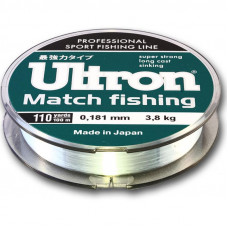 Леска ULTRON Match Fishing 0,230 100м 6,0кг