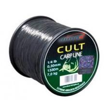 Леска Climax CULT Carpline 0,25 1750м 5кг чёрная