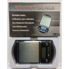 Весы электронные Pocket Scale MH-A03 (500 гр. / 0.1 гр.)