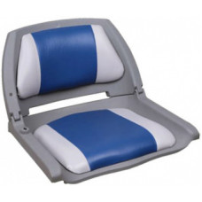 Кресло Folding - серый/синий
