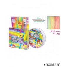 "Плетенка ""Spider Multicolor x4"" 150 м 0.06 мм 4.3кг"