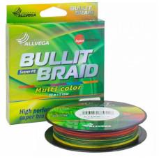 Плетёнка Bullit Braid 0,14 150м 8.4кг мультик