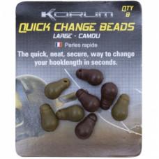 Бусина-отбойник с застежкой KORUM Quick Change Bead