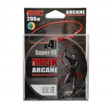Плетёнка Akkoi Mask Arcane 0,12 200м 5,44кг мультик