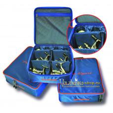 Волжанка сумка под 4 катушки Pro Sport размер М (2 средние+2 большие с доп. шпулями)