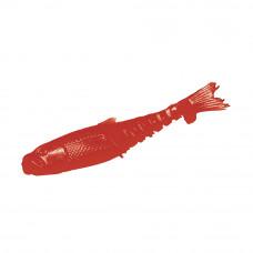 Мягкая приманка MicroKiller Малек 3см кровавый (мотыль) (14 шт.)