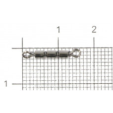 Вертлюг Kosadaka тройной высокоскорстной №8 19кг (упаковка - 4шт)