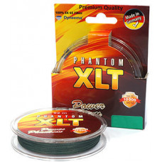 Плетёнка Power Phantom XLT x4 0,1 120м 8,2кг зелёная