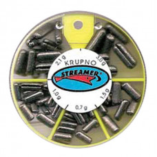 Набор грузил Streamer 0,35-1,5гр (100гр)