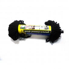 Шнур черный 3мм 10м