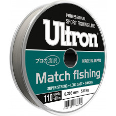 Леска ULTRON Match Fishing 0,181 100м 3.8кг