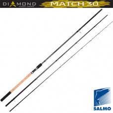 Матчевое удилище Salmo Diamond Match 30 3.90м 5-30гр 3секции