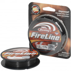 Леска плетеная Berkley FireLine Smoke 110 м 0.08 4,4кг серая
