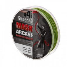 Плетёнка Akkoi Mask Arcane 0,16 150м 6,8кг зелёная