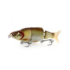 ВОБЛЕР IZUMI SHAD ALIVE 4 SECTION WHITE FISH 80ММ 9,5Г SLOW SINKING ЦВ. 3