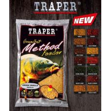 Traper Groundbait Method Feeder Halibut Czerwony 750г