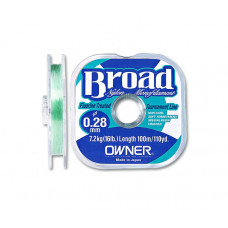 Леса Owner Broad 100м 0,10мм 1кг