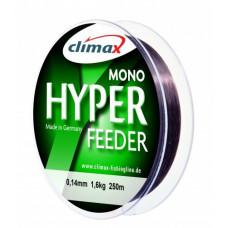 Леска Climax Hyper Feeder 0.30 mm, 7.4 kg 1000 m тёмно-коричневая