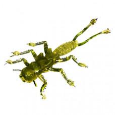 Мягкая приманка MicroKiller Веснянка 3.5см болотно-зеленый (8 шт.)