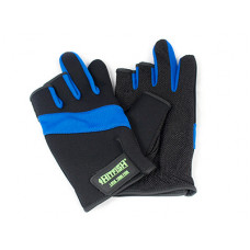 Перчатки HITFISH Glove-03 цв. Синий р. L