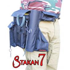 Stakan 7 IdeaFisher удобный универсальный пояс — держатель для спиннинга