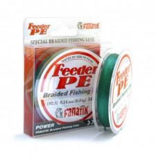 Плетенка FANATIK Feeder PE X4 0,14 140м 6,8кг зеленая